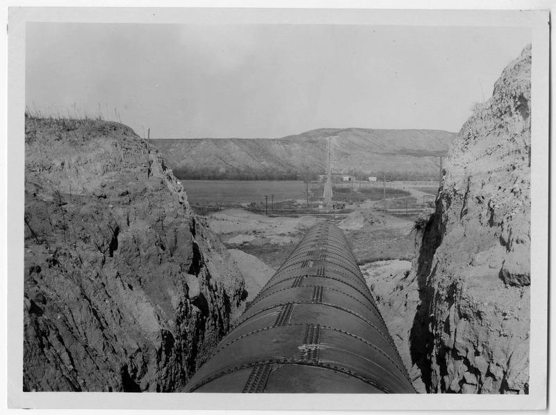 Photographs of hydro-electric power plants and canal companies in California