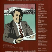Poster for the 1988 Tomás Rivera Conference