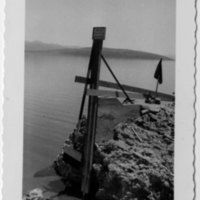 U.S.G.S., S.S.P. Co. gage on Mono Lake, 7/3