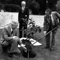 Tomás Rivera at the Citrus Experiment Station 75th Anniversary ceremony (Image 3)