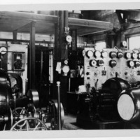 Powerhouse no.4, exciters and switchboards, Inyo County (Image 35)