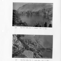 Big Pine Lake, No. 1, lowest & Big Pine Lake, No. 2, lower end