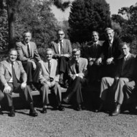 Tomás Rivera with other University of California chancellors