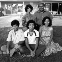 Tomás Rivera and family