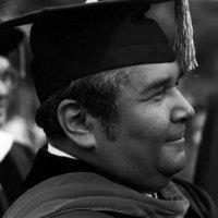 Tomás Rivera in academic regalia (Image 2)