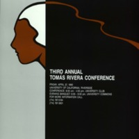 Poster for the 3rd Annual Tomás Rivera Conference