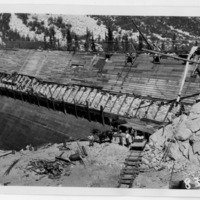 Replacement of face of Hillside Dam, Inyo County (Image 21)